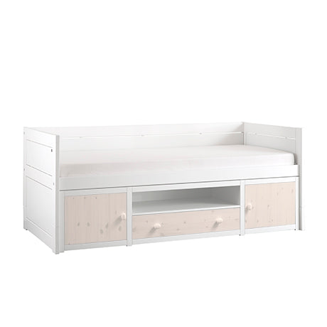 Space-saving bed with drawer 90x200 cm Lifetime - Decochic