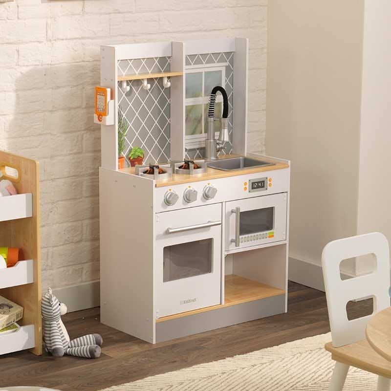 Juguete de cocina Let's Cook In Wood Kidkraft - Decochic
