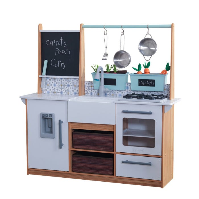 Cucina Giocattolo Farmhouse con Ez Kraft Assembly™ Kidkraft - Decochic