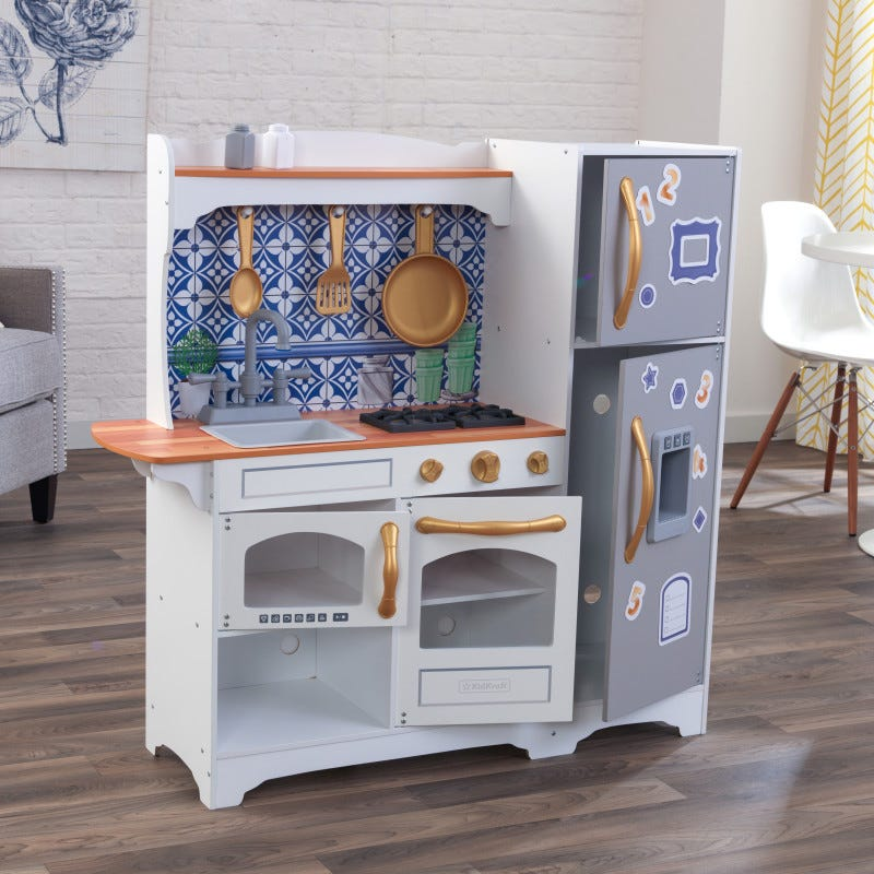 Cucina Giocattolo Mosaic Magnetic - Kidkraft - Decochic