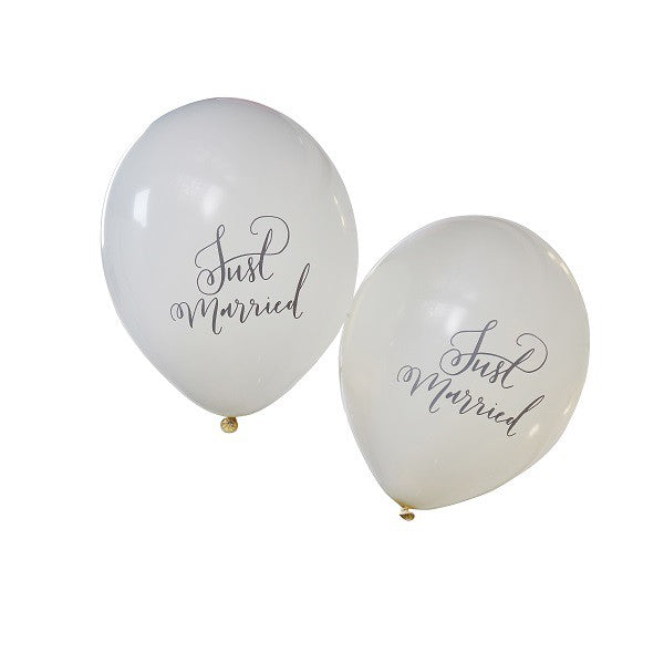 Just Married Spouses Balloons - Decochic