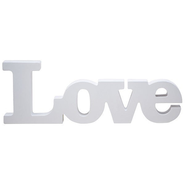 Love written in wood - Decochic