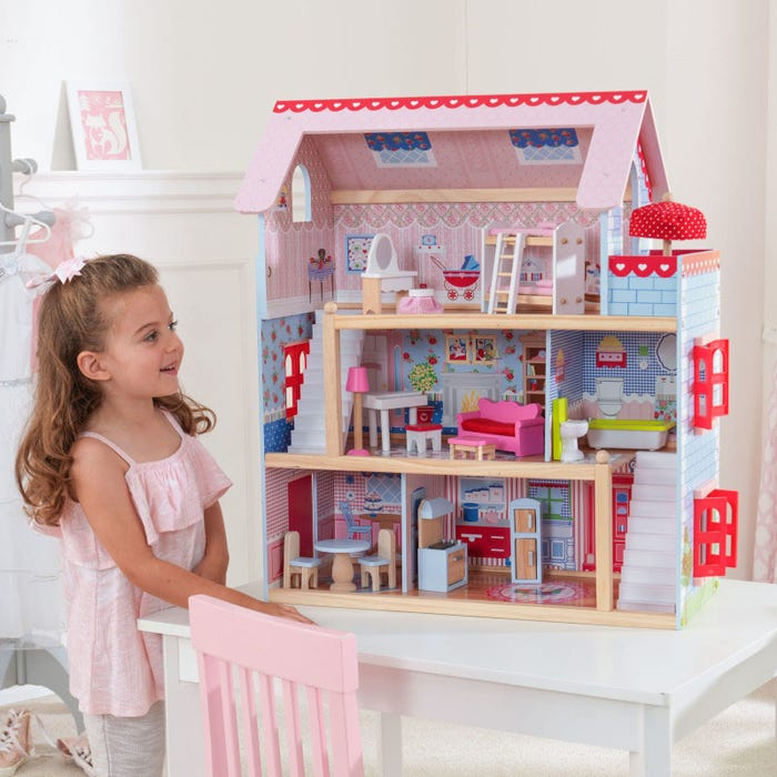 Chelsea Cottage KidKraft Dollhouse - Decochic