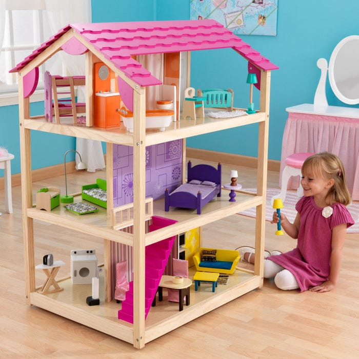 So Chic KidKraft Dollhouse - Decochic