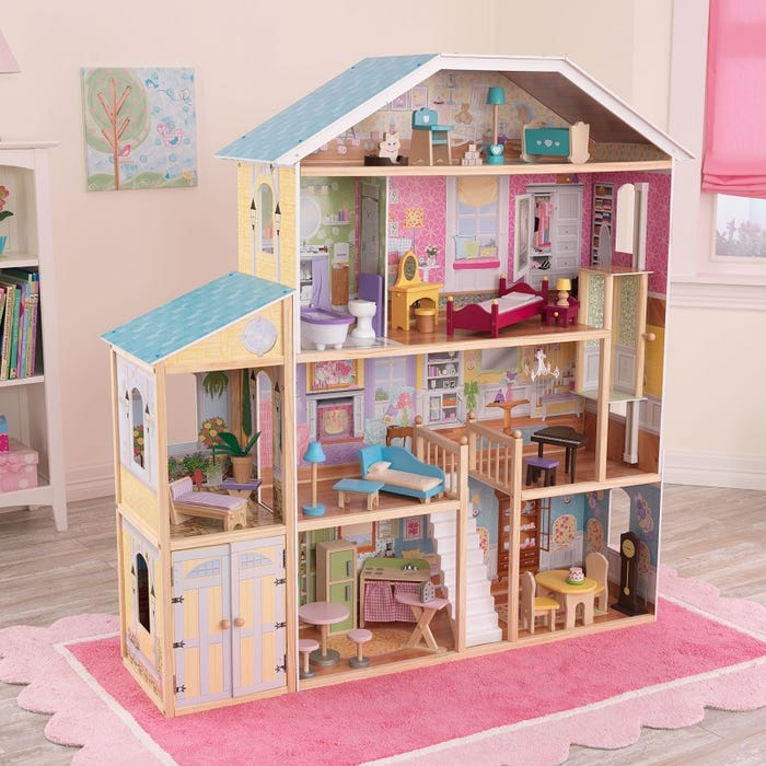 Majestic Mansion KidKraft Dollhouse - Decochic