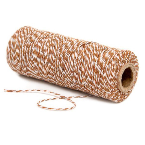 Twine Bakers Brown and White Decochic - Decochic