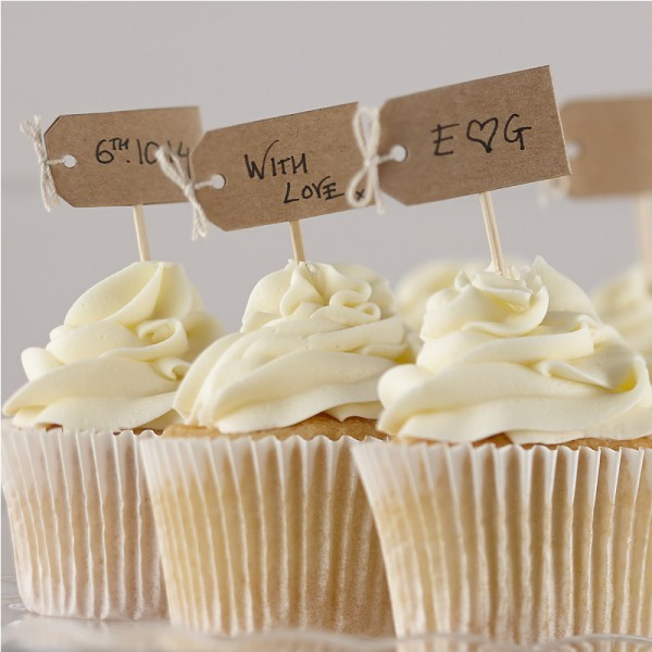 Craft - Decochic Writable Cupcake Toppers