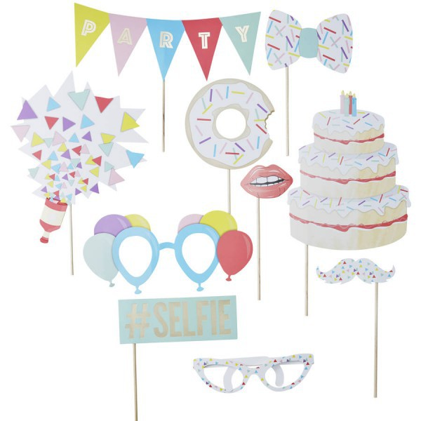 Kit per Set Fotografico Party - Decochic