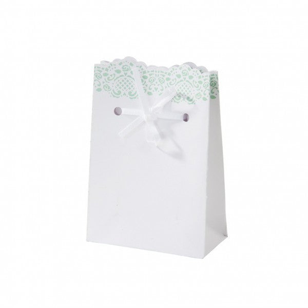 Candy Boxes for Confetti Verde Mint and Pizzo - Decochic