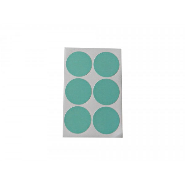 Mint Green Round Sticker Labels - Decochic