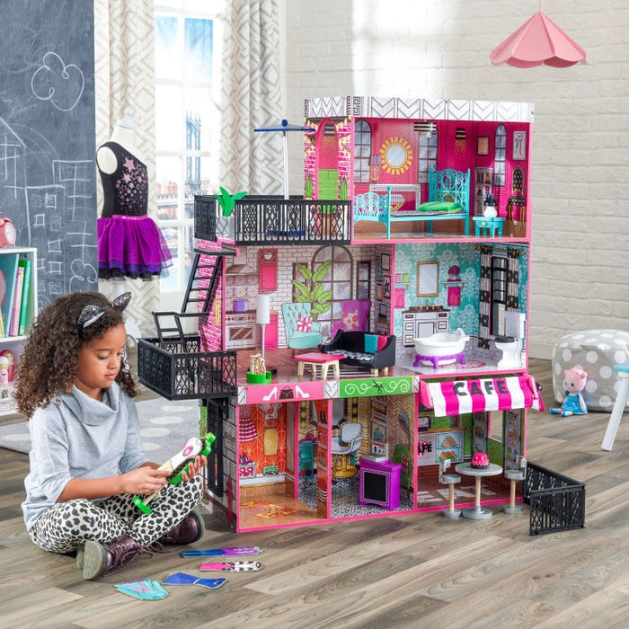Brooklyn's Loft KidKraft Dollhouse - Decochic