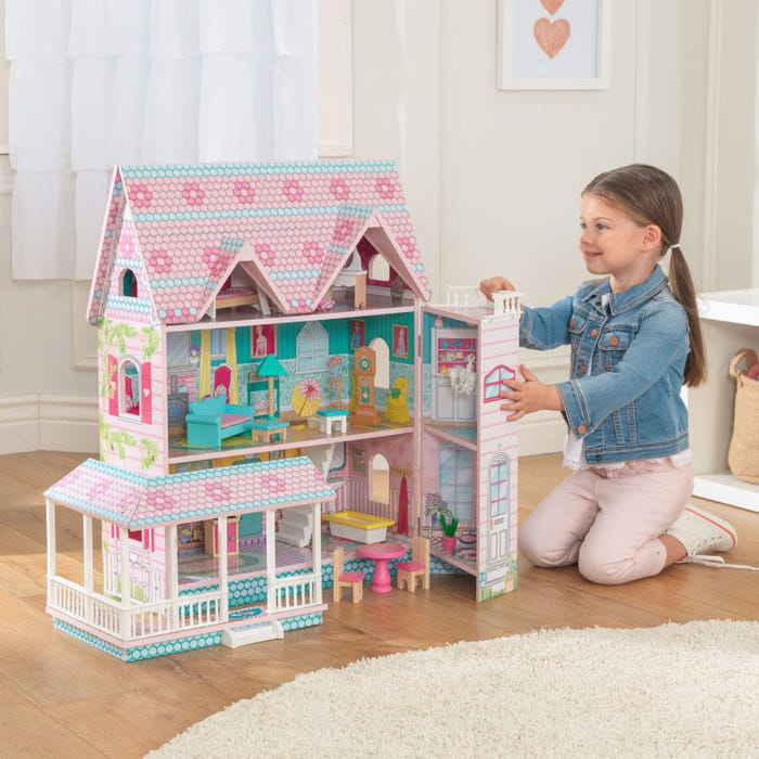 Abbey Manor KidKraft Doll House - Decochic