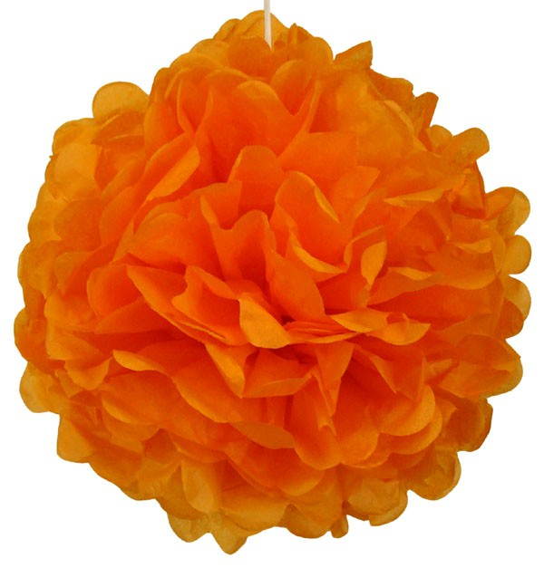Orange Pom Pom - Decochic