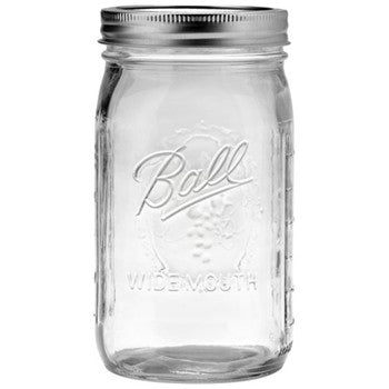 Glas Einmachglas Jar Medium Jar Wide Cap - Decochic