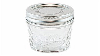Bola acolchada Mason Jar Glass Jar Small - Decochic