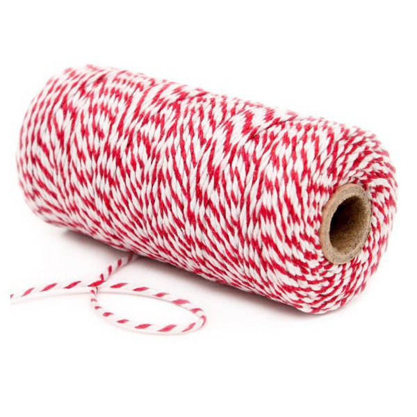 Spago Bakers Twine Rosso e Bianco