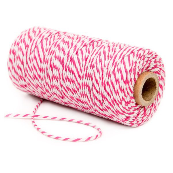 Bakers Twine Fucsia y Decochic Blanco - Decochic