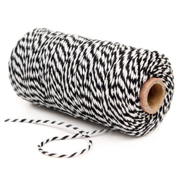Twine Bakers Black and White Decochic - Decochic