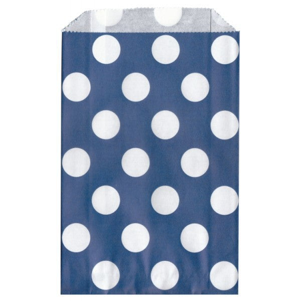 Sacchetto in Carta Blu a Pois - Decochic