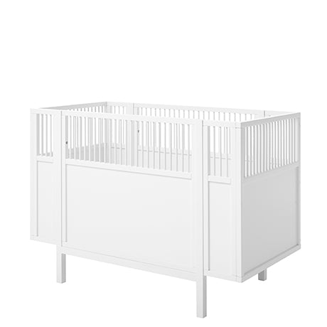 Cradle 60x120 cm White LifeTime - Decochic