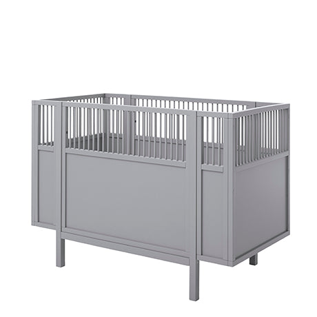 Cradle 60x120 cm Gray LifeTime - Decochic