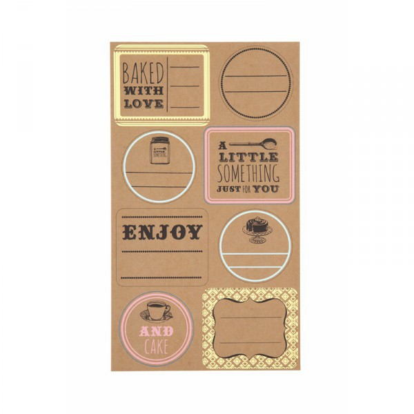 Adhesive Labels for Jams and Desserts Craft - Decochic