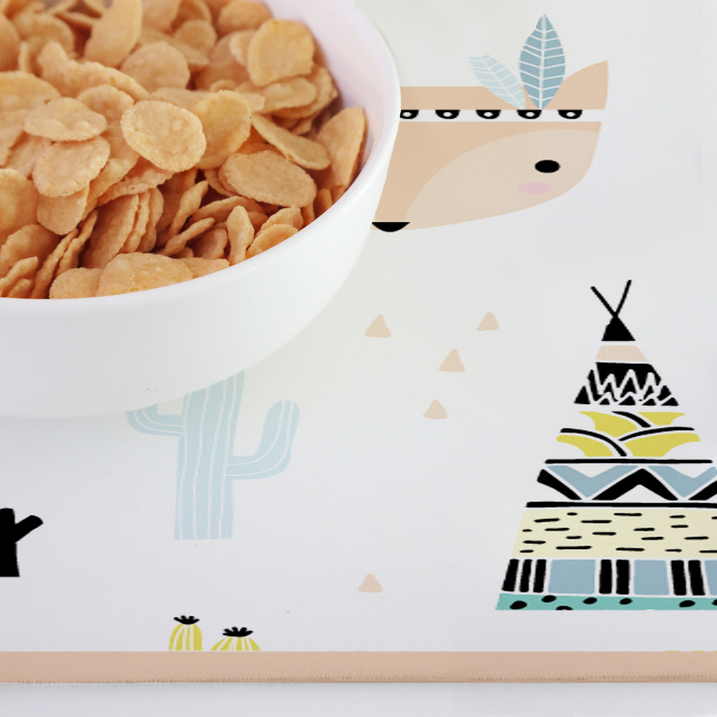 Petits Indiens - Set de Table Decochic Vinyl Kids