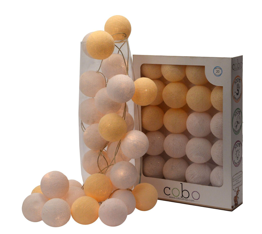 Bright Globes Mother of Pearl - Decochic