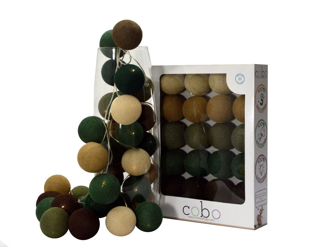 Jade led light balls - Decochic
