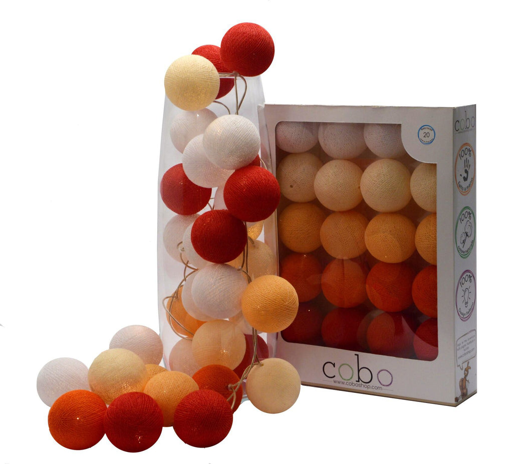 Bright Balls Ruby - Decochic