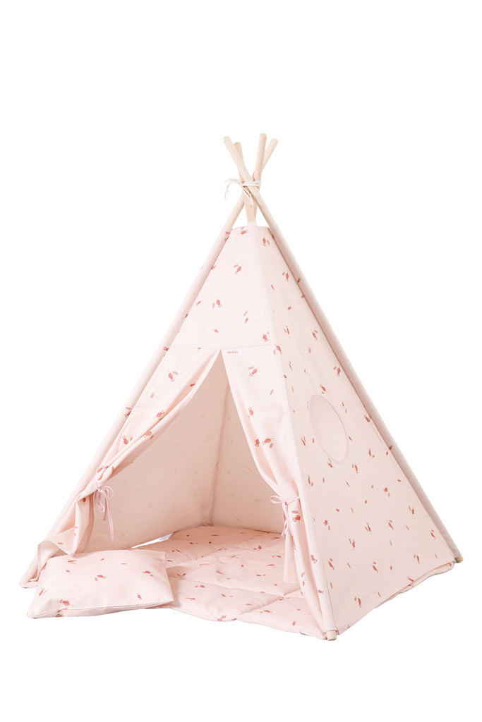 Tipi Misty Rose Wigiwama Kinderzelt - Decochic