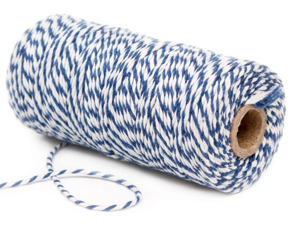 Bakers Twine Decochic azul y blanco - Decochic