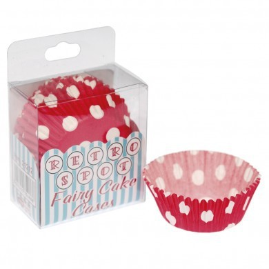 Paper cups in Rossi paper with white dots - Decochic
