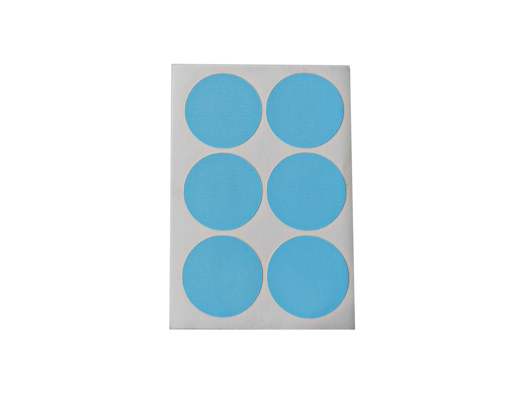 Blue Round Sticker Labels - Decochic