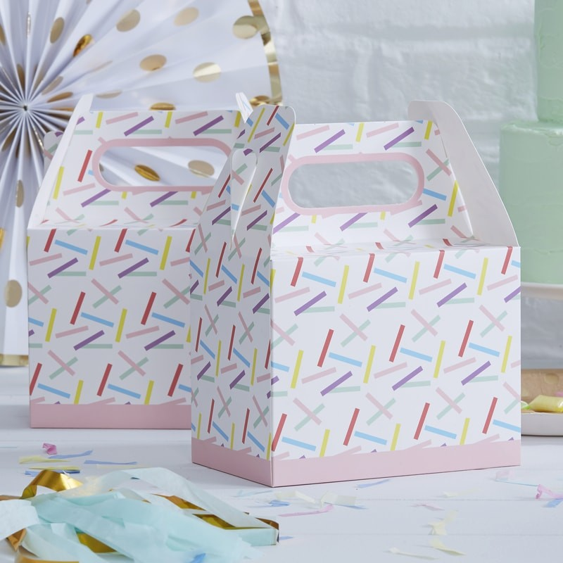 Colored Candy Boxes - Decochic