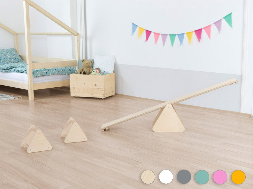 Set di Equilibrio Montessori TRIANGLES Benlemi - Decochic
