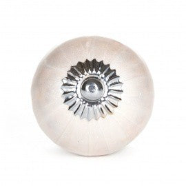 Large Knob in Lacquered White Ceramic - Decochic