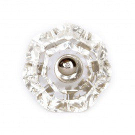 Grand Bouton Transparent - Decochic