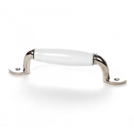 White Ceramic Handle - Decochic
