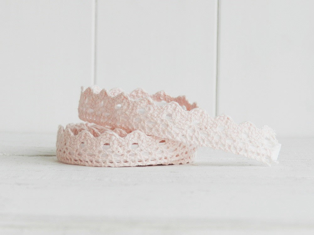 Light Pink Lace Adhesive Tape - Decochic