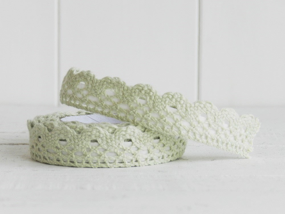 Light Green Lace Adhesive Tape - Decochic