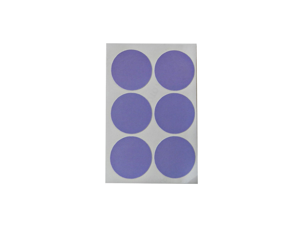 Lilac Round Decals - Decochic