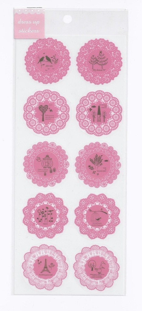 Stickers Adesivi Rosa - Decochic
