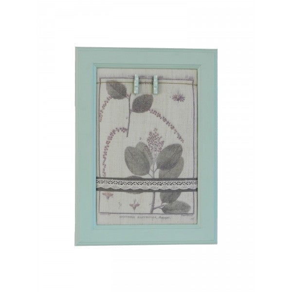 Vintage Garden Fabric Notice Board - Decochic