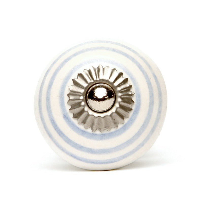 Lilac - Decochic White Ceramic Knob