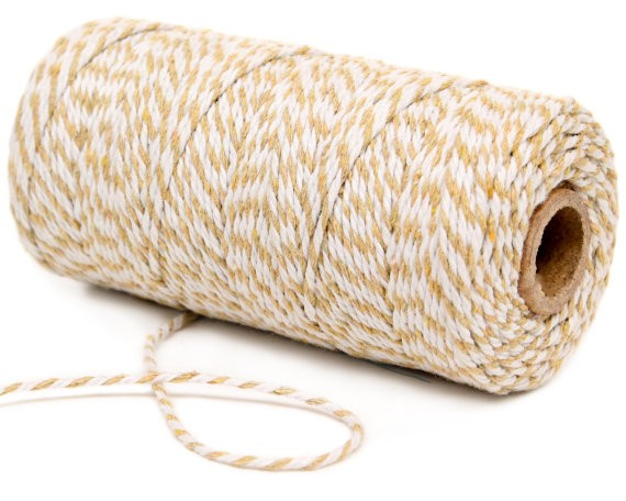 Bakers Twine Ivory y Decochic White - Decochic