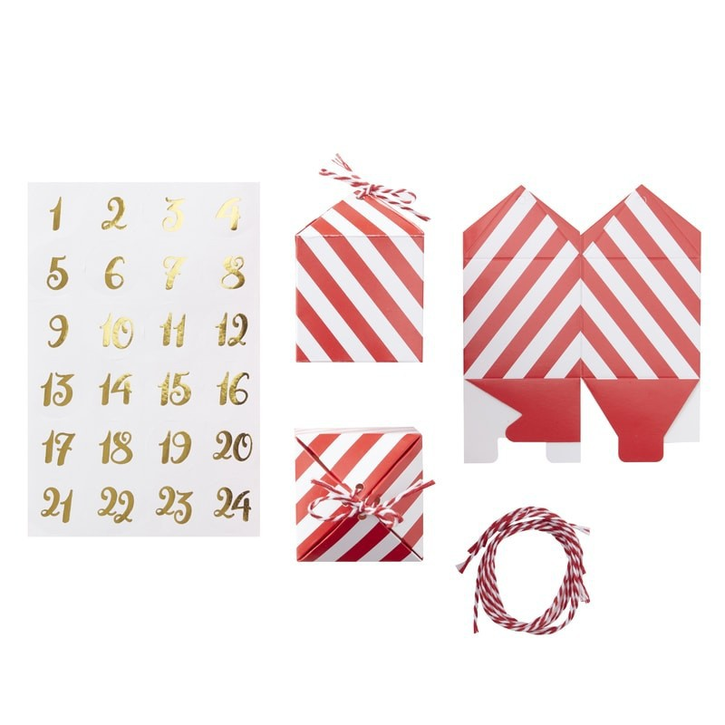 Kit Calendario dell' Avvento - Decochic