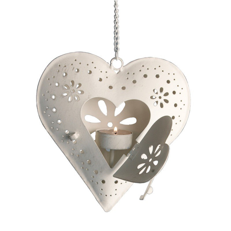 Candle Holder with Heart - Decochic