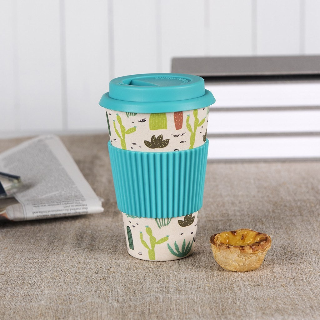 Bamboo Cactus Travel Mug - Decochic