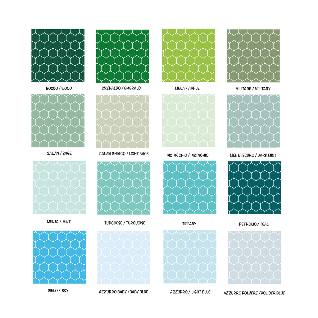 Self-adhesive Hive Film - More Colors Available - Decochic